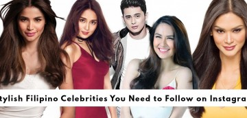 Stylish Filipino Celebrities