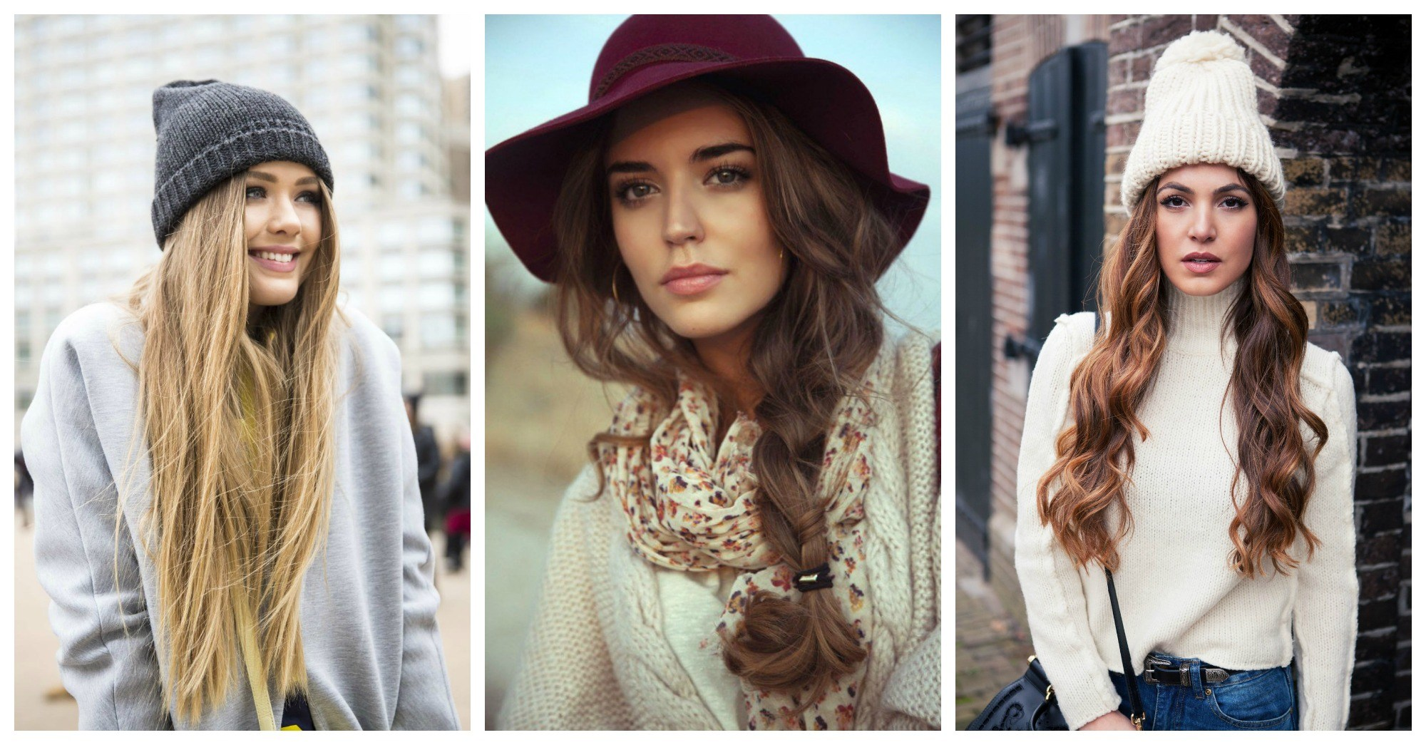 How-to-Wear-You-Hair-Under-Hat-This-Winter